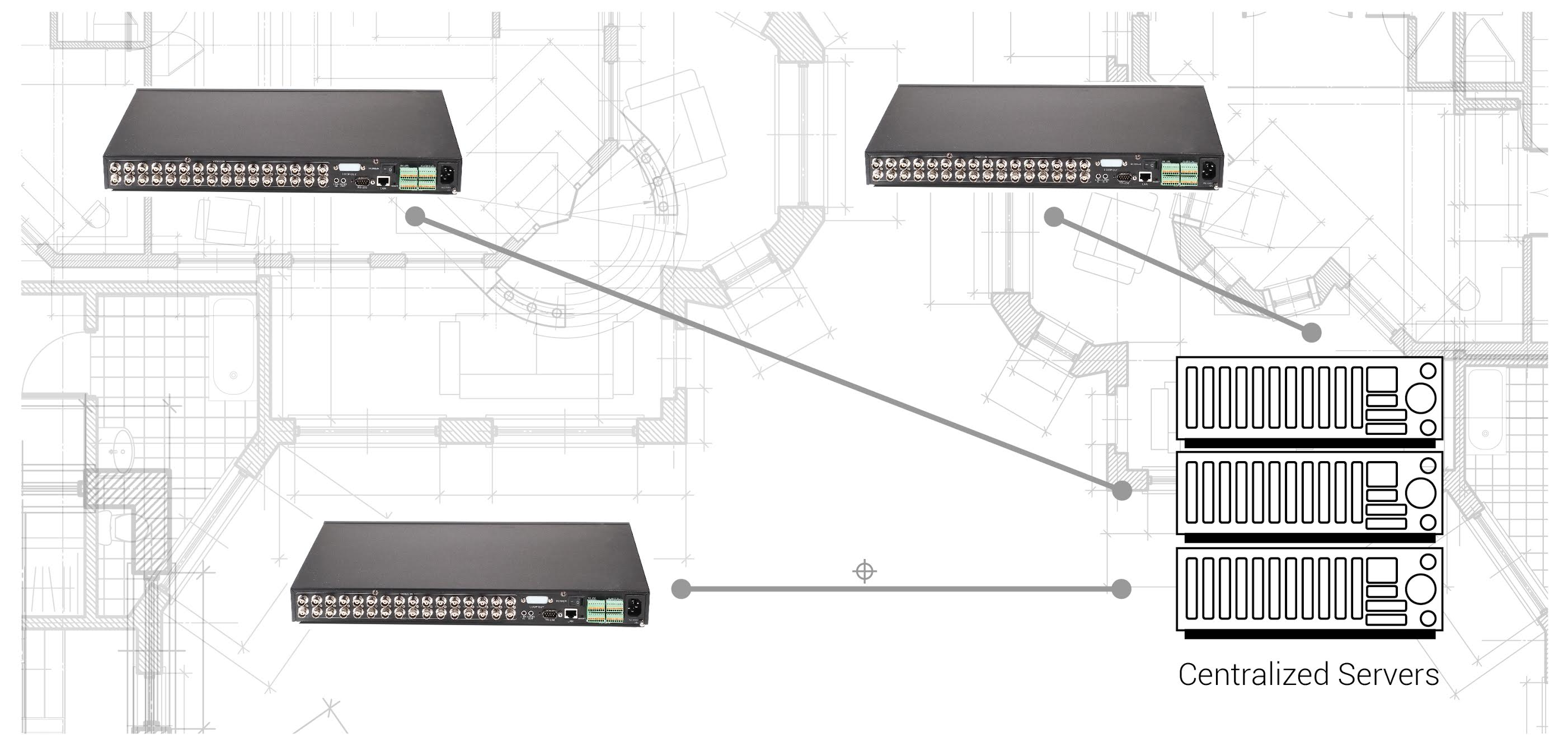 Ip Servers For Video Surveillance Panasonic Security Ptz Camera Wiring Diagram Centralized System