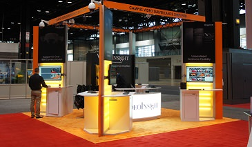Video Insight Tradeshow booth