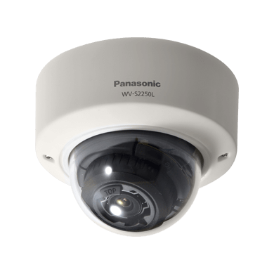WV-S2250L i-PRO 5MP Dome Camera