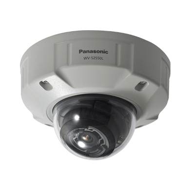 WV-S2550L i-PRO 5MP Dome Camera